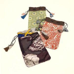 Three Tassel Bags New